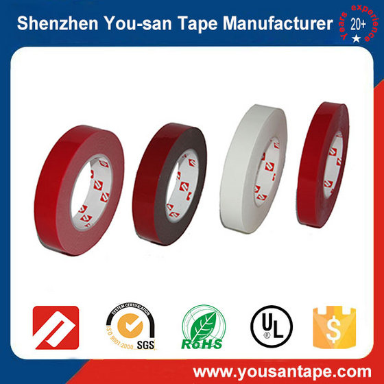Free Sample!! Strong Adhesive Acrylic 3M Quality Double Sided Foam Tape