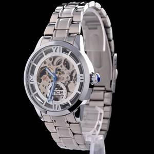 Wholesale Other Clocks: Luxury skeleton automatic mechanical wrist watch