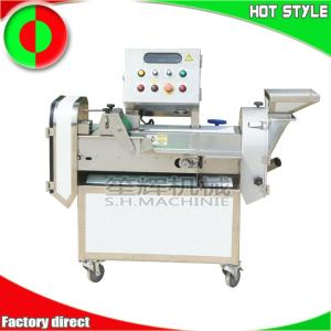 Wholesale bamboo shoots: Automatic Double-head Vegetable Cutter