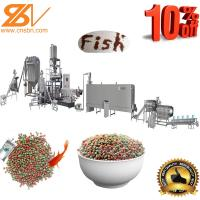 100-6000kg/H Automatic Fish Feed Pellet Extruder Machine Plant Equipment Production Line 6