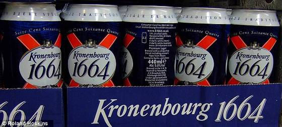 Sell High Quality Standard Kronenbourg 1664 Beer