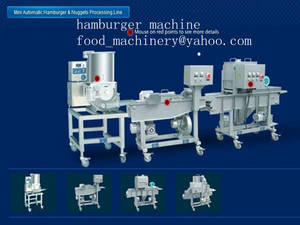 Wholesale fish food processing equipment: Hamburger Processing Line
