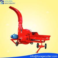 9TPH Hay Stalks Chopper for Dairy Cows Feed Processing