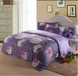 Wholesale home textile: 100% Polyester Microfiber Printing for Bedding Set Home Textile