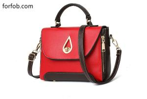 Wholesale fashion handbag: Hot Fashion Ladies PU Leather Handbag for Young