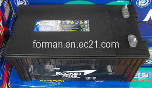 Wholesale battery: Marine Battery, 12V/200AH