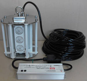 Wholesale led: LED Underwater Lamp 200W (AC 90V-250V)