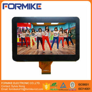 Wholesale touch screen: 7 Inch Capacitive Touch Panel Screen with 800x480 Resolution