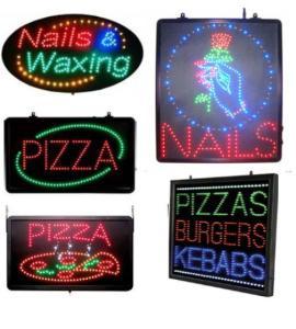 Wholesale nail: LED Nails Sign
