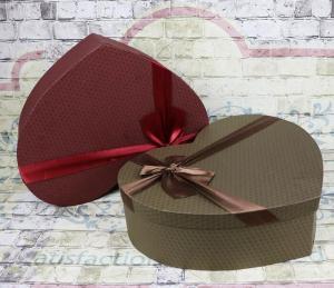 Wholesale heart shape gift box: Custom Luxury Recycle Printed Empty Heart Shape Gift Box Wholeasale From China