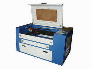 Wholesale scroll pattern: 300*500mm 50W Desktop Laser Engraver/Cutter