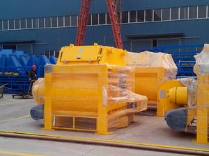 Wholesale concrete mixer: Twin Shaft Mixers for Concrete Mixing and Batching At All Levels