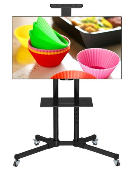 FMM1 Audio Video Conference TV Trolley Floor Stand Movable TV Mount