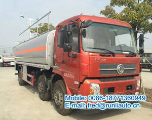 Wholesale vegetable cooking oil: Dongfeng Tianjin 6X2 20cbm Edible Vegetable Cooking Palm Oil Tanker Truck