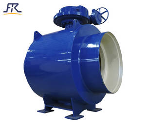 Wholesale waste oil treatment: Worm Fully Welded Ball Valve