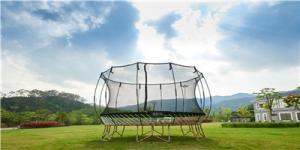 Wholesale enclosures: Trampoline with Enclosure  Net Basketball