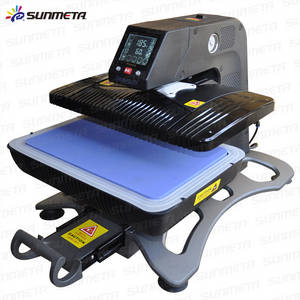 Wholesale t shirt heat press machine: Pneumatic Automatic Heat Press Machine Heat Transfer Machine T Shirt Printing Machine