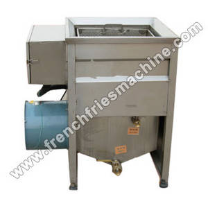 Wholesale french fries fryer: French Fries Frying Machine