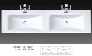 Wholesale basin: Double Phoenix Stone Basin
