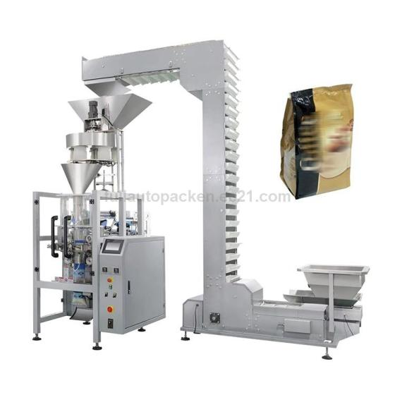 Automatic Vertical Instant Coffee Bag Pouch Sachet Packing Machine
