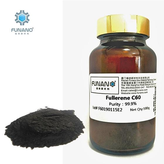 Funano Carbon Black Powder C60 99 High Purity Fullerene C60 with 99% Raw Materials