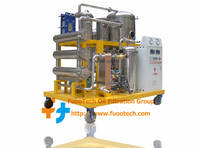 High Vacuum Lube Oil Filtering Machine, Waste Industrial Oil Treatment System