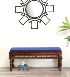 Wholesale dressing table mirror: Antique Wooden Bench