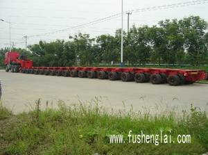 Wholesale trailer: Multi Axle Trailer, Goldhofer, Modular Trailer