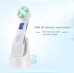 Wholesale multiple function: 7 IN1 RF EMS LED Photon High Energy Urtrasonic Multiple Function Beauty Device