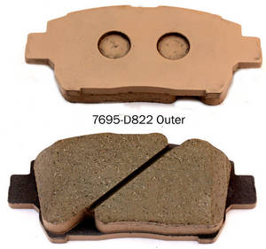 Wholesale Clutches & Parts: Auto Mobile Parts A-634WK Brake Pad for TOYOTA Corolla Prius Yaris Brake Pad Manufacturer