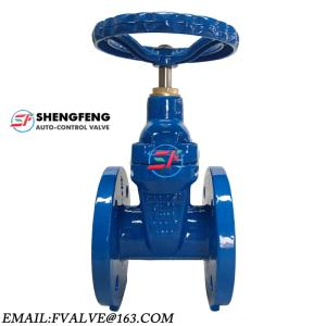 Wholesale dust proof rubber: DIN3352 F4 GGG50 DN100 Resilient Seat Cast Iron Gate Valve