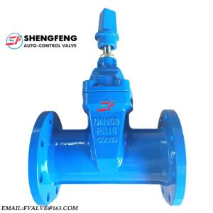 Wholesale rubber lined butterfly valve: DIN3352 PN16 F5 Resilient Seat DN100 Cast Iron F5 Gate Valve