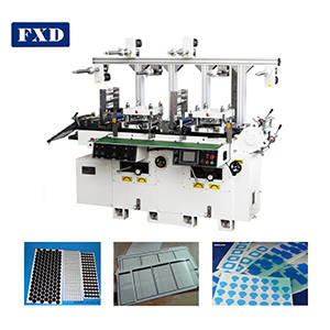 Wholesale cotton waste recycling machine: FXD High Precision&Automatic Cosmetic Cotton Die Cutting Equipment Machine