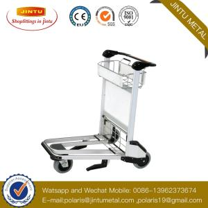 Wholesale hotel luggage cart: Airport Baggage Trolley Tu-TY01