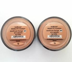 Wholesale foundation: Bareminerals Original Medium Beige Escentuals Foundation 8g N20 XL