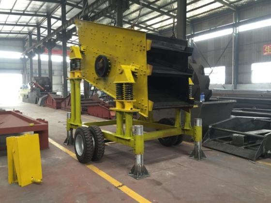 Sell Movable 3 Layer Vibrating Screen