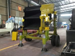 Wholesale Mining Machinery: Movable 3 Layer Vibrating Screen