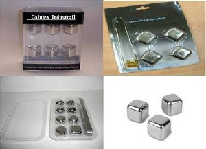 Wholesale Other Bar Accessories: Metal Ice Cubes