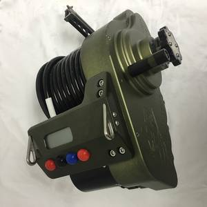 Wholesale game: LP-S1200 12v Electric Fishing Reel in Limited Edition Army Green Color