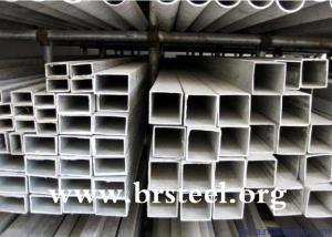 Wholesale rectangular pipe: Rectangular Hollow Section  Steel Hot Dipped Galvanized Steel Square Pipe / Square Tube