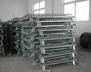Wholesale wire mesh container: Steel Mesh Wire Containers