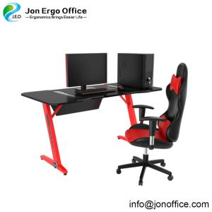 Wholesale laptop computers: Z-Shaped Desk Computer Gaming Laptop Table Workstation Office Home Desk