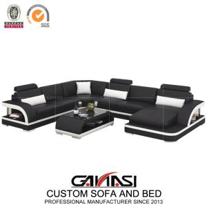 Wholesale modern sofa: Italian Style Modern Home Leather Sofa Bed