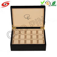 Luxury Wooden Watch Box with Pillow