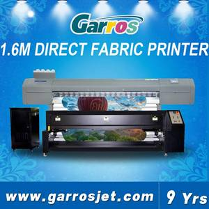 Wholesale flex banner machine: High Resolution Industrial Inkjet Fabric Printing Machine Textile Digital Printer