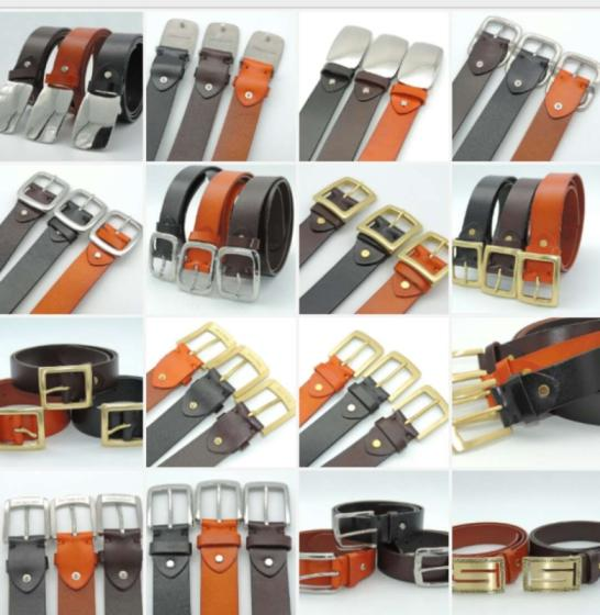 Sell Free shipping 1pc brass buckle and stainless steel buckle genuine belt