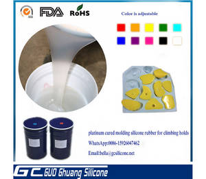 Wholesale silicone rubber mold: China Manufacturer Raw Material Liquid Silicone Rubber for Climbing Holds Molding