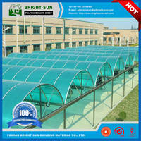 Sell high quality decorative materials polycarbonate  sheet for car shelter
