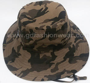 Wholesale Bucket Hats: Wide Brim  Bucket Hat