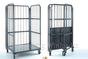 Wholesale folding basket: Warehouse Cage